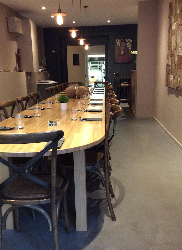 Restaurant thaïlandais à St-Malo dans le quartier de Courtoisville
